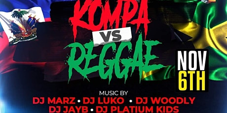 KOMPA VS REGGAE tickets