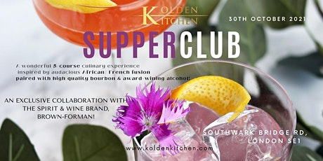 Spirit pairing supperclub : 5-course inspired by African/ French fusion tickets