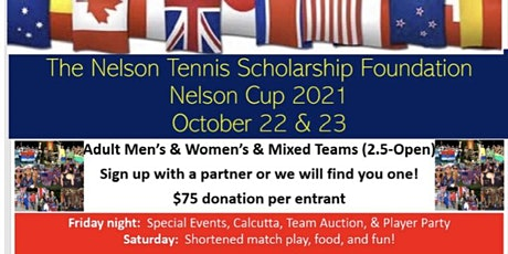 Nelson Tennis Scholarship Nelson Cup Tournament tickets