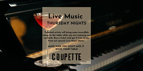 LIVE MUSIC THURSDAY NIGHTS WITH NATA & GRAND M. | 2 FREE COCKTAILS/TICKET tickets