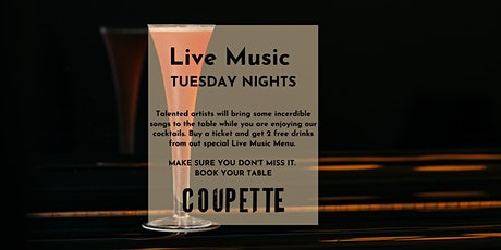 LIVE MUSIC TUESDAY NIGHTS WITH NATA & HENNESSY |2 FREE COCKTAILS PER TICKET tickets