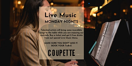 LIVE MUSIC MONDAY NIGHTS WITH NATA & ILEGAL | 2 FREE COCKTAILS PER TICKET tickets