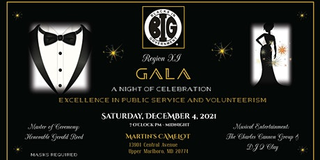 2021 REGION XI  - Excellence in Public Service  and  Volunteerism tickets