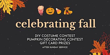 Celebrating Fall tickets