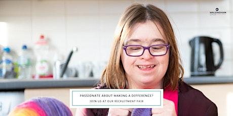 Carlisle Recruitment Fair   Walsingham Support tickets