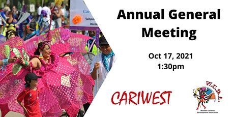 Western Carnival Development Association (Cariwest) AGM tickets