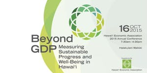 HEA 2015 Conference | Beyond GDP: Measuring...
