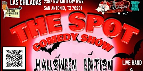 """The Spot comedy show """" Halloween addition"""" tickets"""