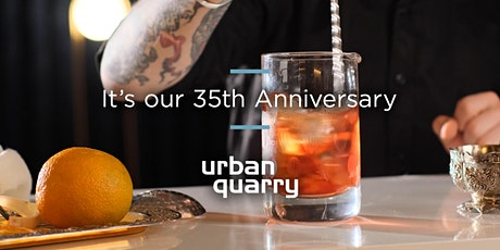 Urban Quarry 35th Anniversary November 3, 2021 tickets