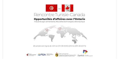 Rencontre Tunisie-Canada billets