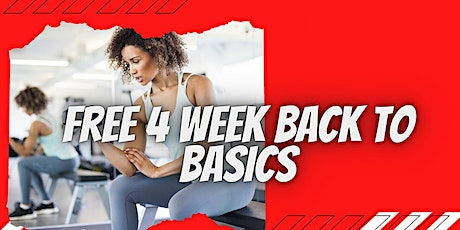 Slow and Steady: 4-Week Health and Wellness Basics Program tickets