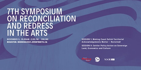 7th Symposium on Reconciliation and Redress  in the Arts tickets