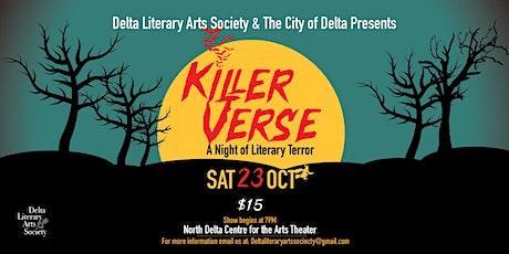 Killer Verse: a night of literary terror tickets