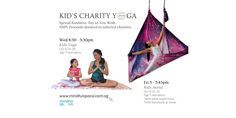 Charity Yoga Class for October (Kids) tickets