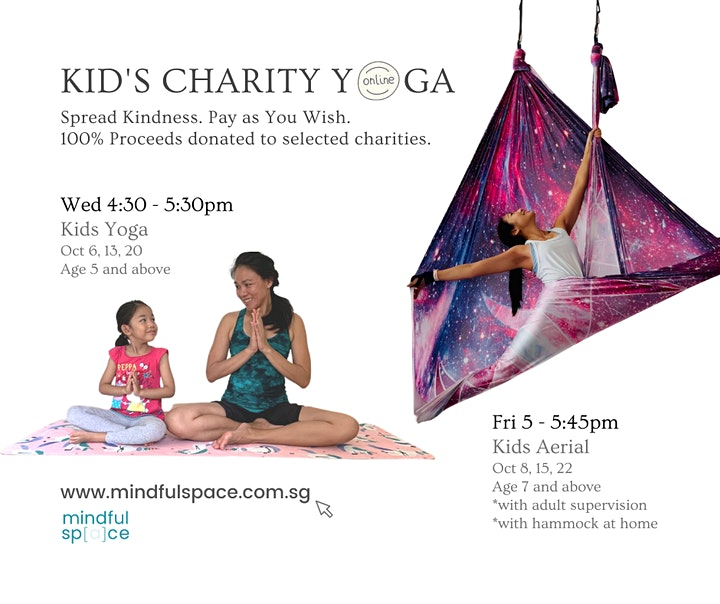 Charity Yoga Class for October (Kids) image