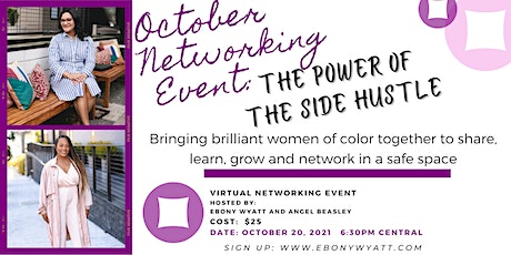 October Networking Event - The Power of the Side Hustle tickets