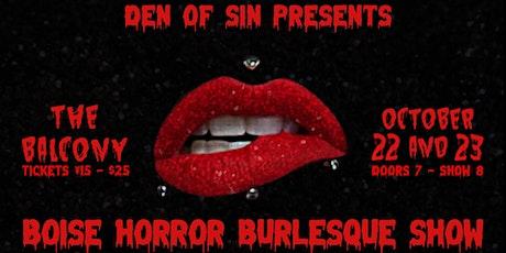 Boise Horror Burlesque Show tickets