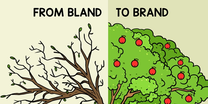 FROM BLAND TO BRAND MASTER CLASS (VIRTUAL) image