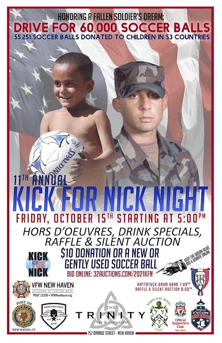 2021 New Haven Kick for Nick Night image