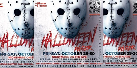 18+| 21+ Halloween Massive Party  NightMare on 5th ave Monster Mash Night 1 tickets