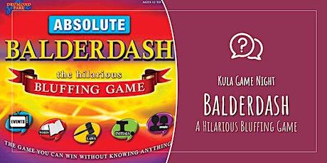 Kula Game Night: Balderdash tickets