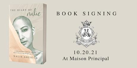 The Diary of Nalie Book Signing at Maison Principal billets