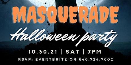 MASQUERADE HALLOWEEN PARTY tickets
