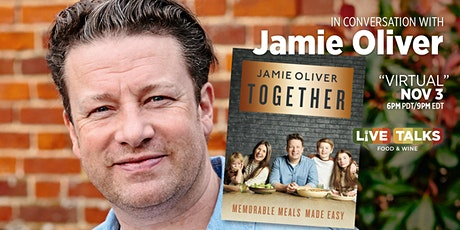 An Evening with Jamie Oliver (Virtual Event) tickets