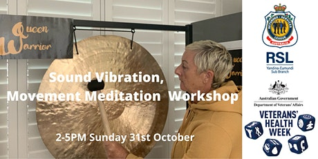 Creative Connections - Sound Vibration and Movement Meditation Workshop tickets
