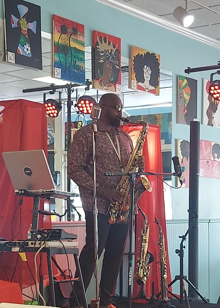 3rd Sunday Jazz Brunch--Art in This Space image
