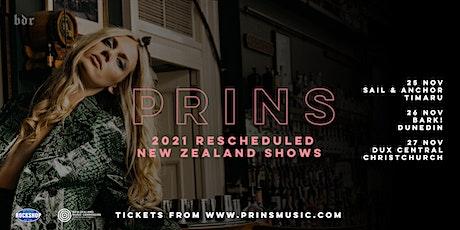 PRINS   NZ Tour   Timaru (New Date) tickets