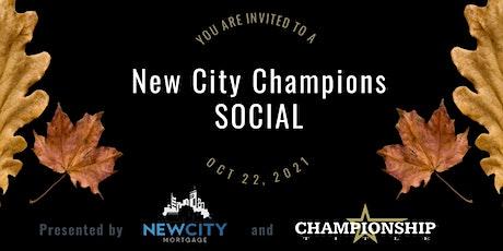 New City Champions Fall Social tickets