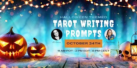 Halloween Themed Tarot Writing Prompts tickets