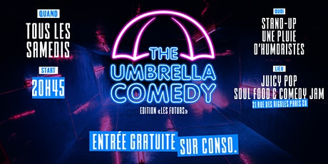 The Umbrella comedy billets