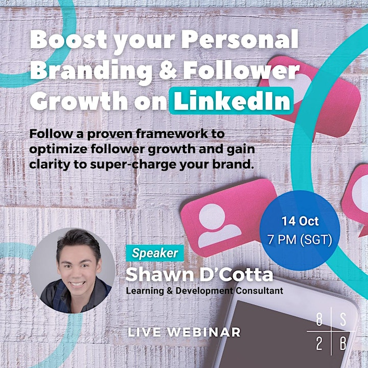LIVE WEBINAR: Boost Your Personal Branding and Follower Growth on LinkedIn image