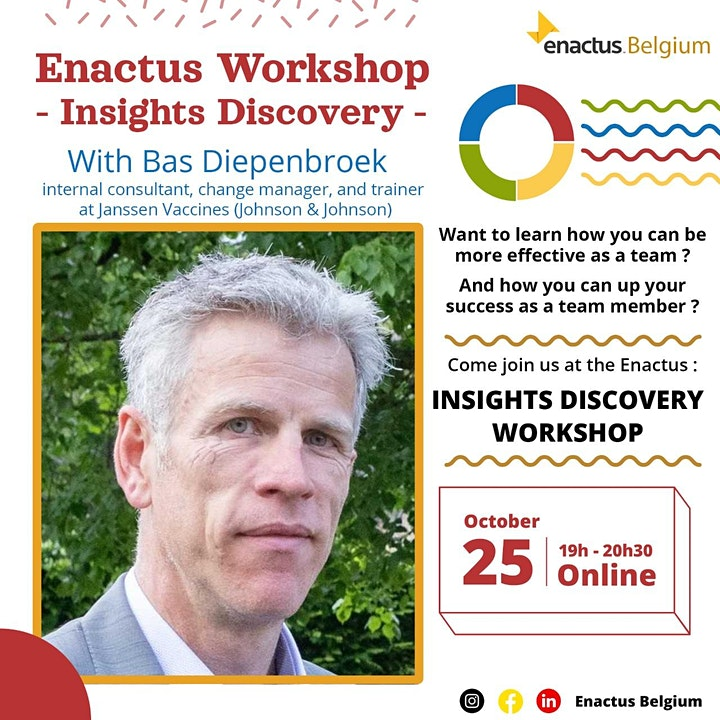 Image pour Enactus 'Insights Discovery' Workshop