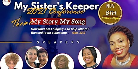 My Sister's Keeper 2021 Conference tickets