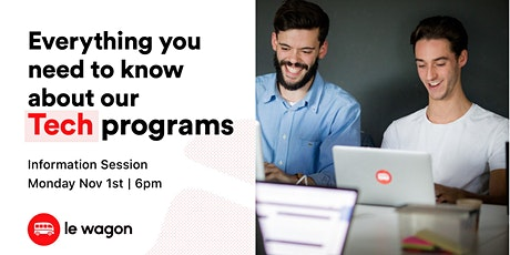 Everything you need to know about our Tech & Data Trainings! tickets