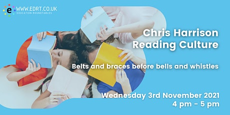 Reading Culture - Belt & Braces before Bells & Whistles tickets