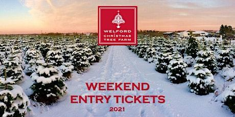 2021 Christmas at Welford Christmas Tree Farm tickets