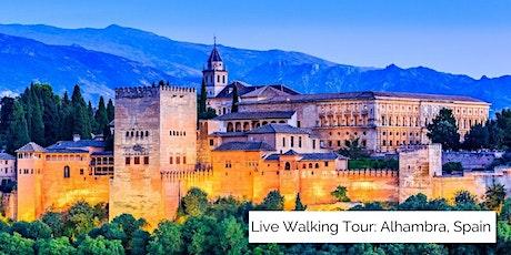 The Alhambra in Granada, Spain Walking Tour (Livestream) tickets