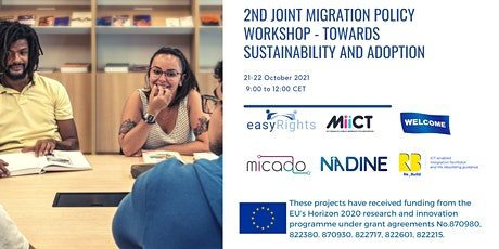 2nd Joint Migration Policy Workshop - Towards sustainability and adoption tickets