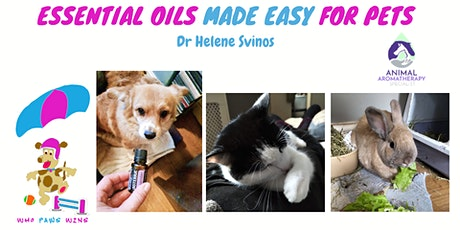 Essential Oils Made Easy For Pets tickets