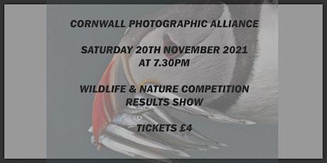 Nature & Wildlife 2021 tickets