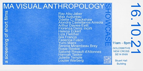 MA Visual Anthropology Showcase - A Screening of Short Films tickets