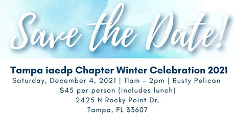 iaedp Tampa Bay 10th Annual Winter Celebration tickets