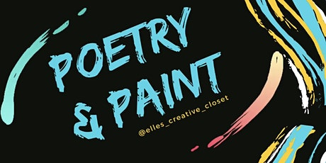 Poetry and Paint tickets