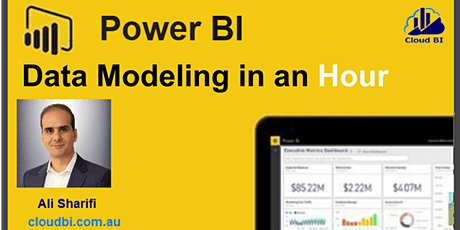 Power BI Data Modeling in AN Hour tickets