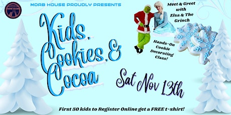 Kids, Cookies, and Cocoa tickets