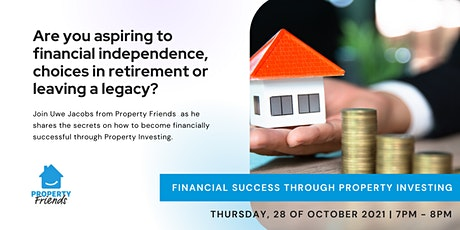 Financial Success Through Property Investing tickets